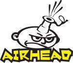Airhead Waterpark Logo Yellow