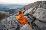 Patagonia sleeping bags and Patagonia provisions.