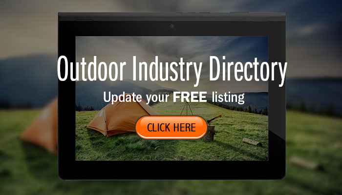 Update FREE Listing for the 2018 Outdoor Industry Directory