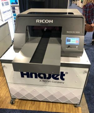 AnaJet's RICOH Ri 1000 Printer Turns Heads at Outdoor